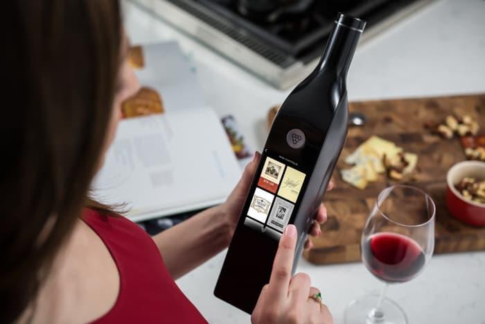 The 1st smart wine bottle