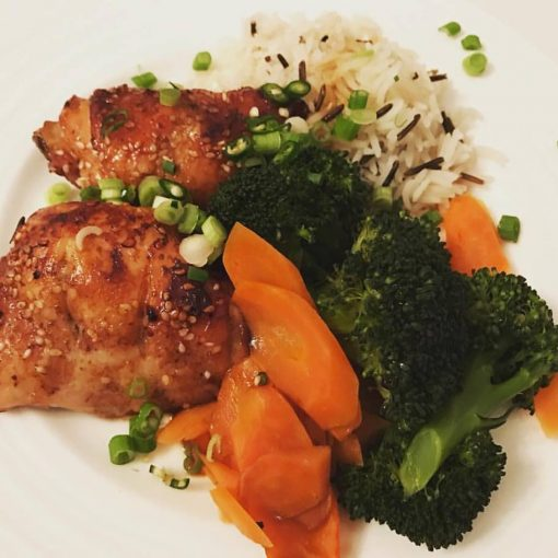 Chinese glazed Chicken